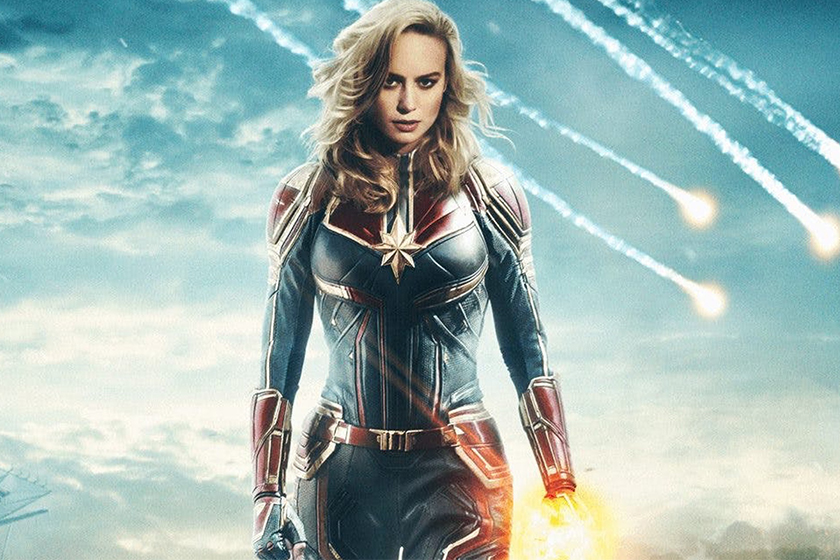 Captain Marvel first look video leaked footage