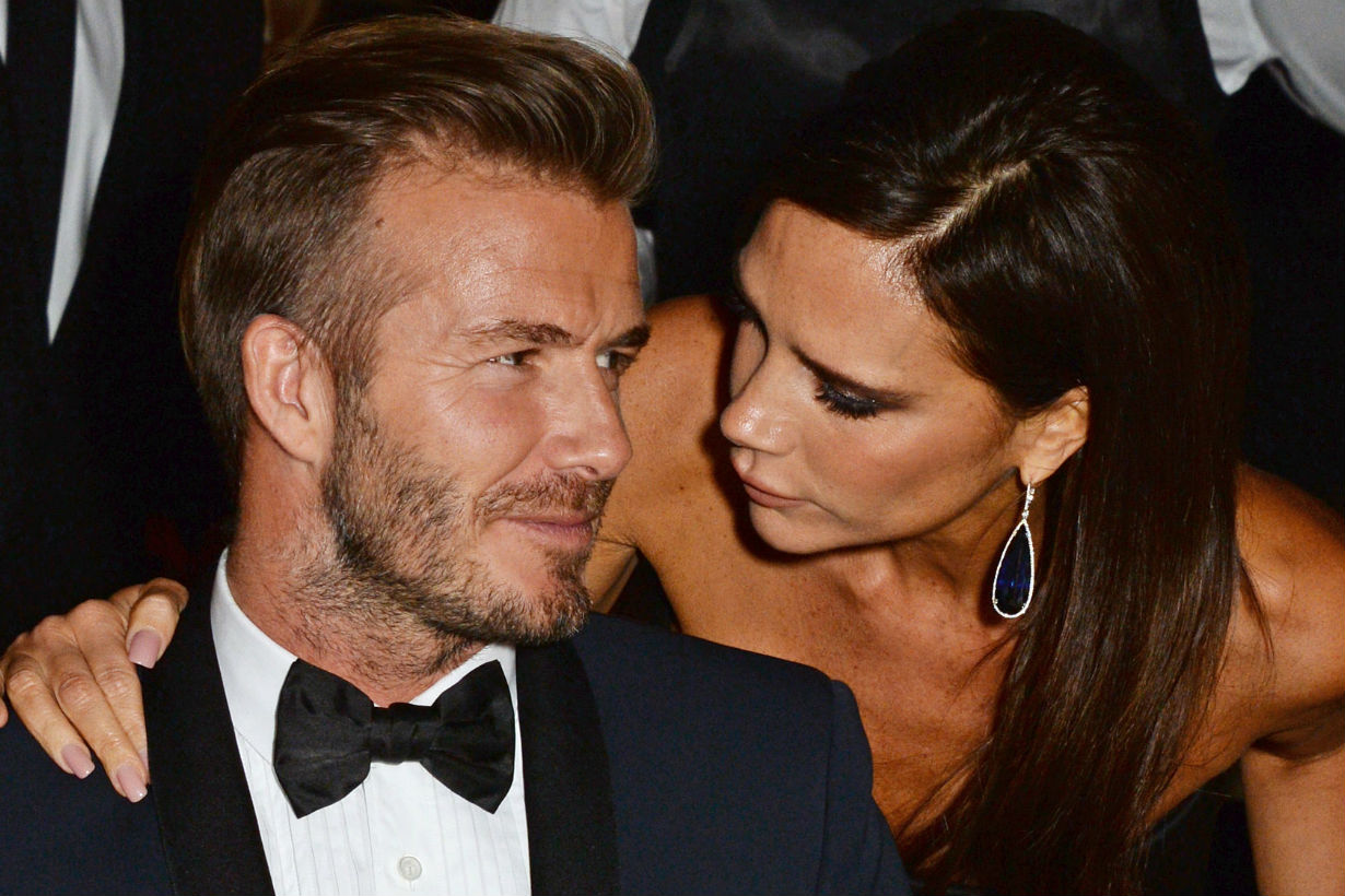 David and Victoria Beckham Shut Down Rumors That They're Getting a Divorce