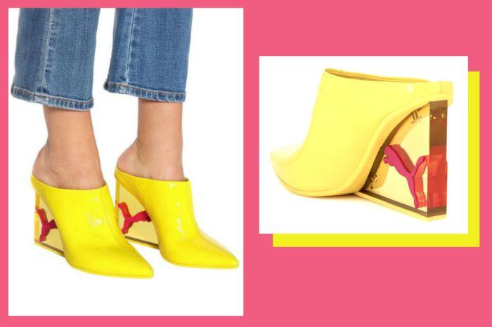 Rihanna 設計的 Fenty Puma 新款 Mule 鞋,絕對讓人們的目光移不開妳的腳!