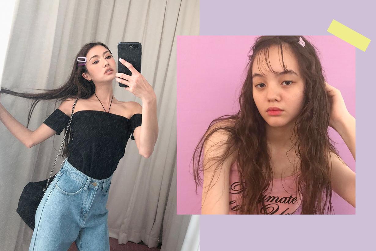 hair clips accessory inspiration korea japan girl summer