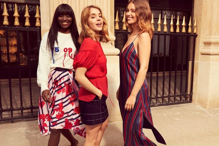 H&M 推出 Bonjour Paris 系列,讓一眾小資女也可以塑造法式穿搭