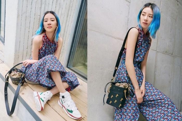 Irene Kim 又再做帶貨女王了,她今季的最愛就是 Chloé Roy Bag