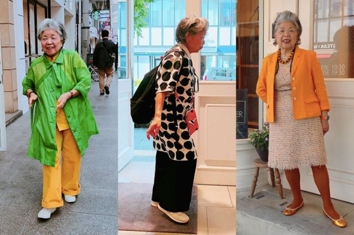 從 83 歲日本老奶奶身上學習大膽撞色穿搭
