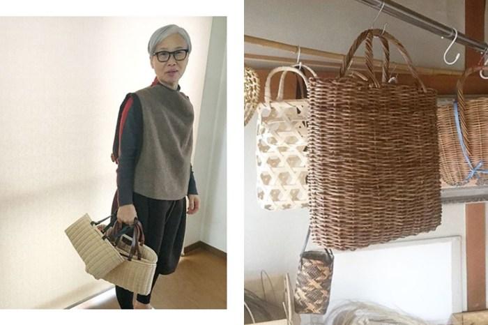 日本人氣手造籐籃,原來是這位銀髮太太親手製作!