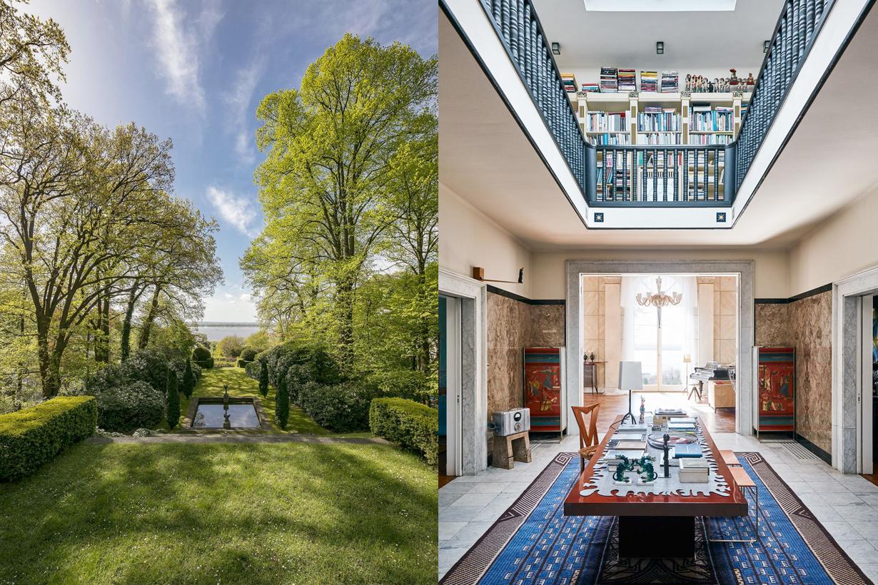 karl lagerfeld german villa reveal sale luxury