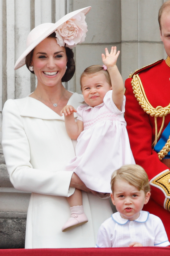 Kate Middleton Princess Charlotte mother and daughter outfits