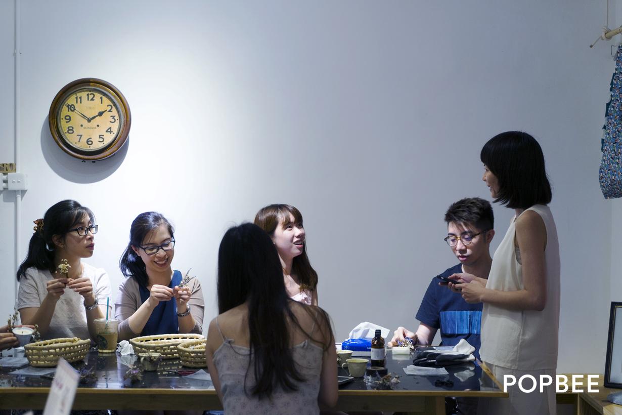 POPBEE  x A Nice Place To x O.works 香薰蠟燭工作坊告一段落