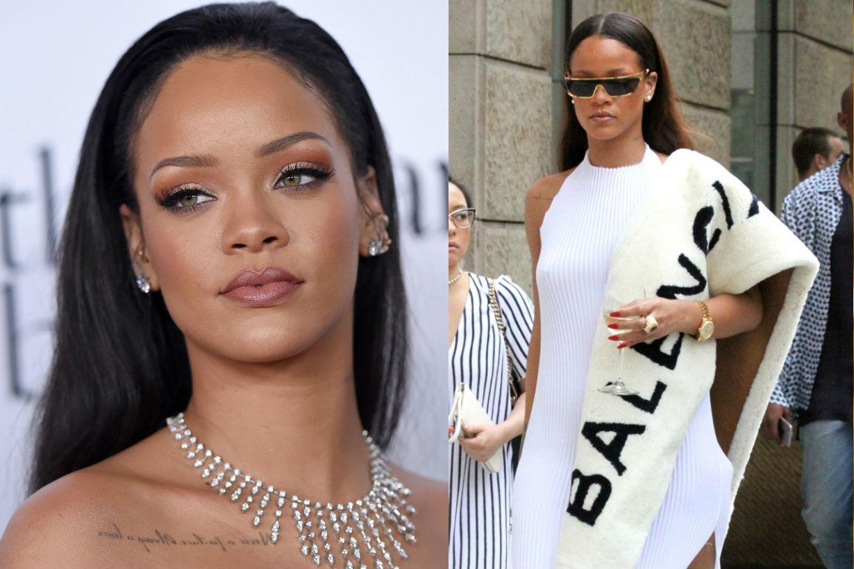 Ocean's 8 Rihanna Keeps Stealing Drinks From Nightclubs