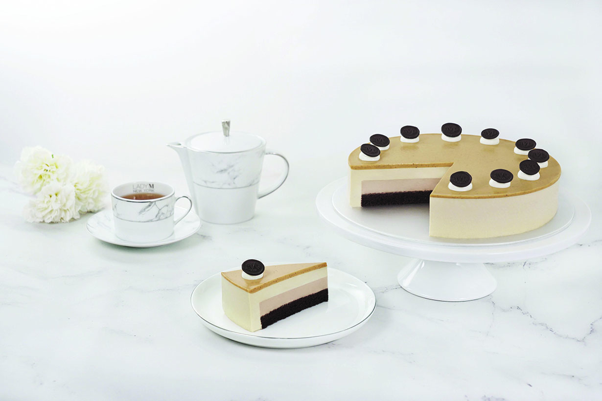 Lady M royal milk tea mousse cake