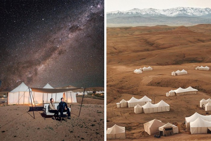享受沙漠底下的奢華 Scarabeo Camp