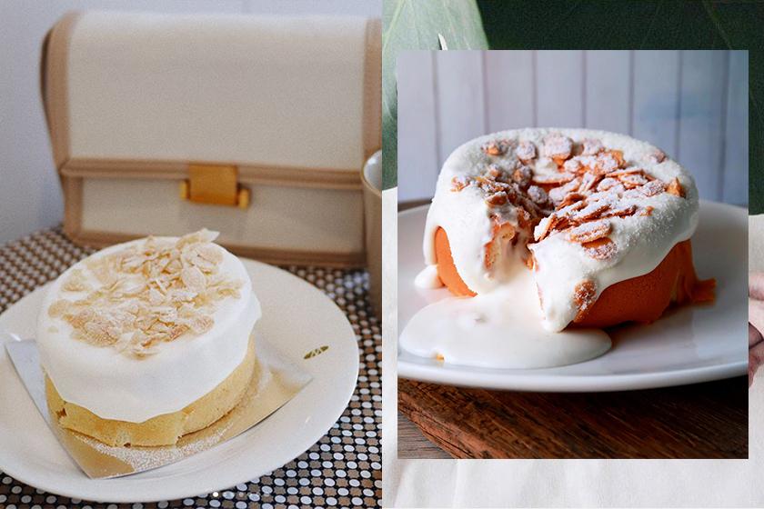 Sea Salt Cheese Milk Foam Cake Taiwan Instagram food
