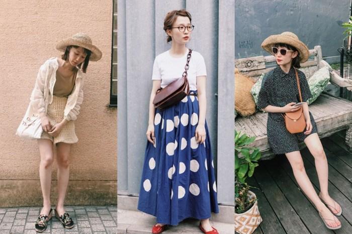 看看這位日本女生的「降溫」時尚穿搭,一起趕走夏日悶熱感!