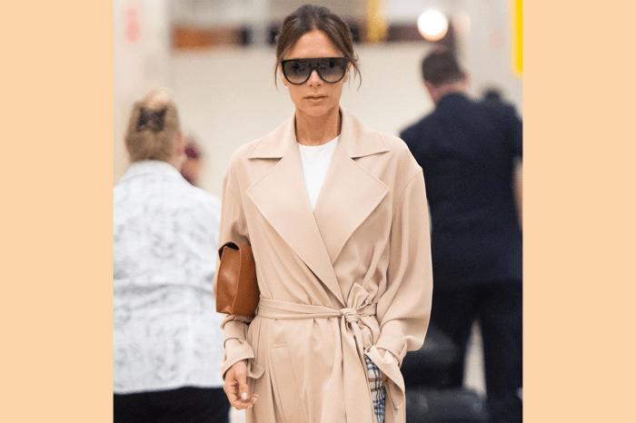 Victoria Beckham 舒適又時尚的機場穿搭示範,再次展現她的好衣Q!