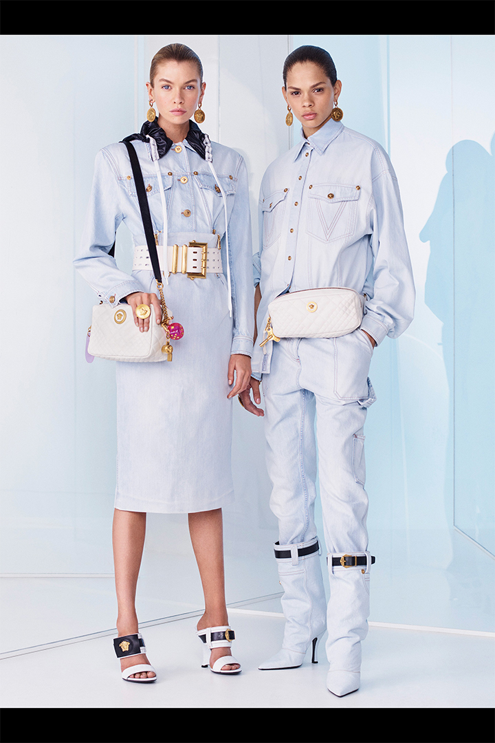 versace resort 2019 lookbook