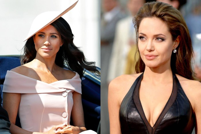 Angelina Jolie 一身穿搭超有皇室氣派,卻被指太有「梅根的影子」?