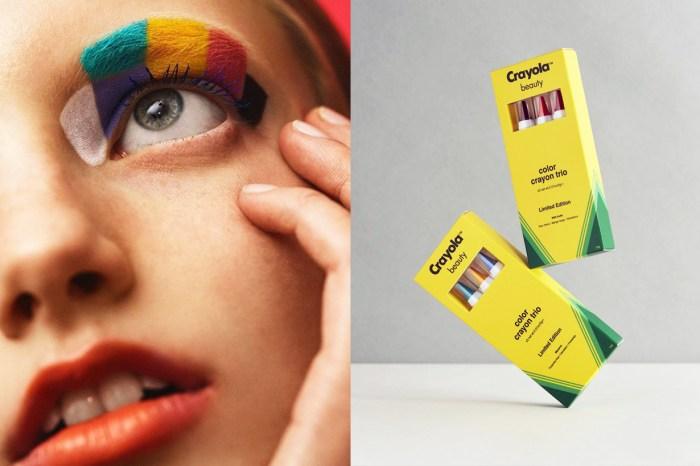 就盡情畫吧!ASOS 跟 Crayola 的聯乘系列讓你把化妝掃當蠟筆!