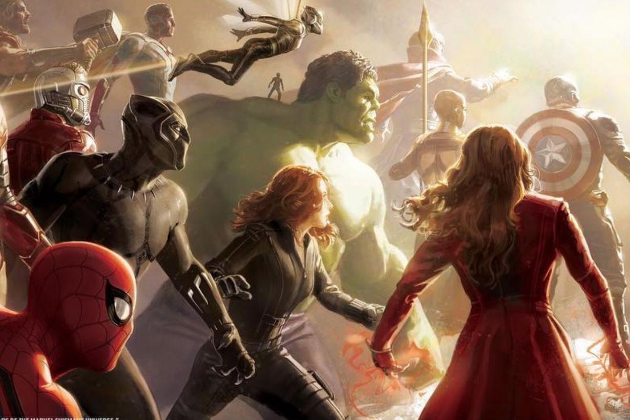 Marvel avenger4 ant man iron man