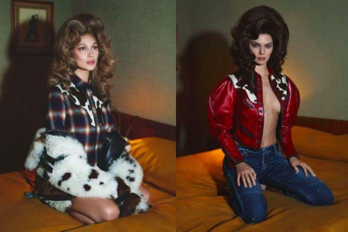 是什麼品牌讓 Bella Hadid 與 Kendall Jenner 一同入鏡大展性感?