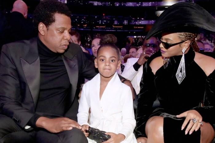 看不下去 Beyoncé 和 Jay-Z 的親密畫面,Blue Ivy 害羞的反應太逗了!