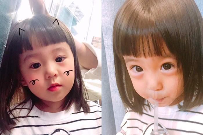 2 歲的咘咘原來是髮型界 It Girl,新髮型集潮流元素於一身!