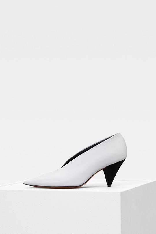 Céline Phoebe Philo white shoes pre fall 2018