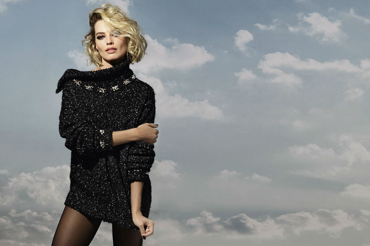 margot-robbie-chanel-coco-neige-collection