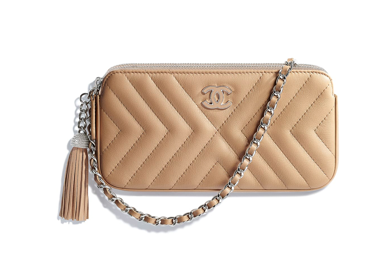 Chanel Clutch With Chain SS 2018