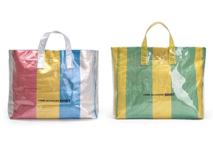 結合兩大熱潮!COMME des GARÇONS 推出夏日版「膠袋」