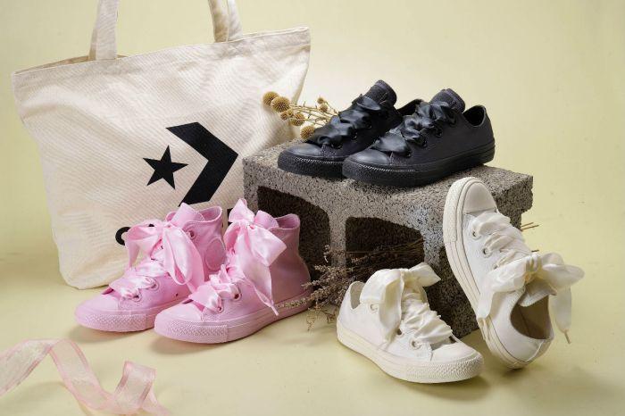 絕對是妳最夢幻的一雙 Converse!限量緞帶鞋台灣只有「這裡」獨家販售