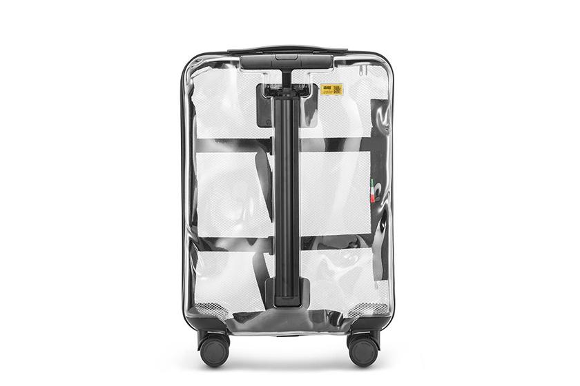 crash-off-white-rimowa transparent suitcase