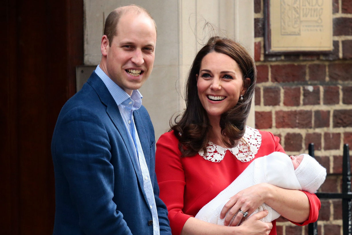 Could Kate Middleton Really Be Pregnant With 4th Baby 2 Mos. After Louis' Birth?