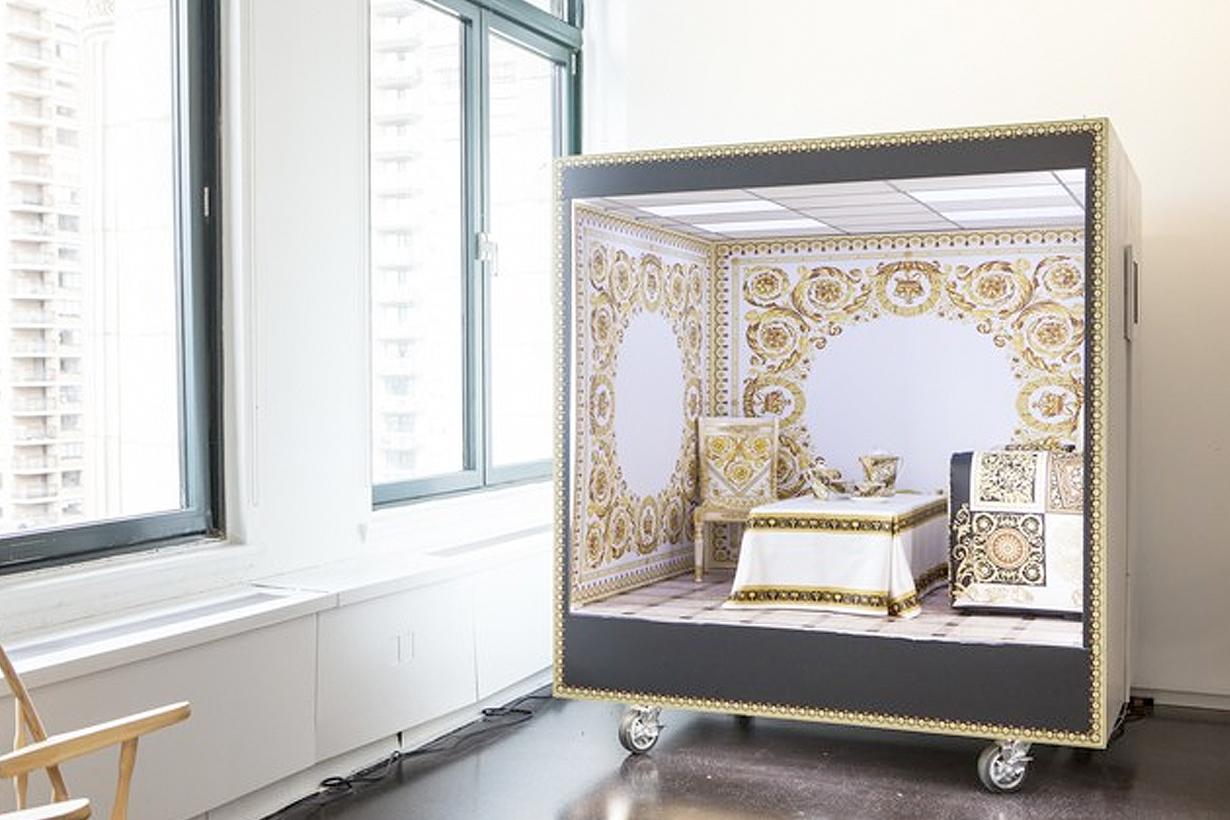 Eva Chen Donatella Versace instagram tiny room Makeover first