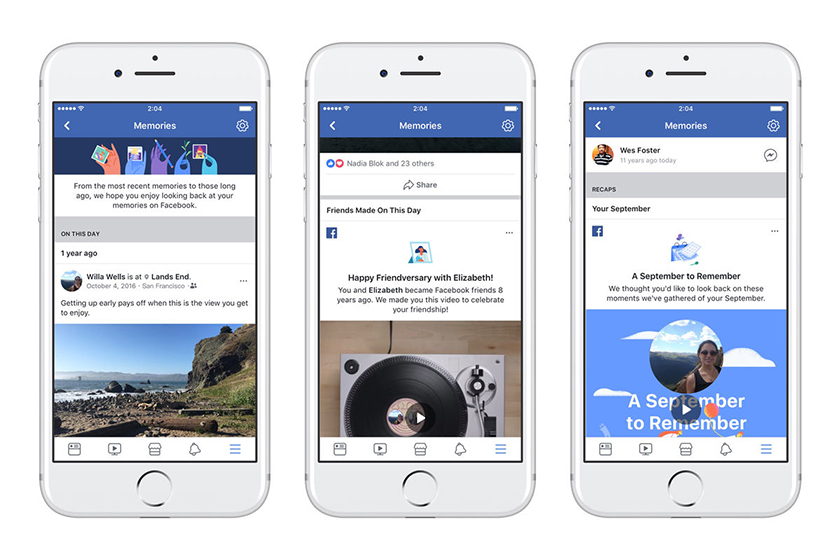 facebook launches memories a new home for reminiscing