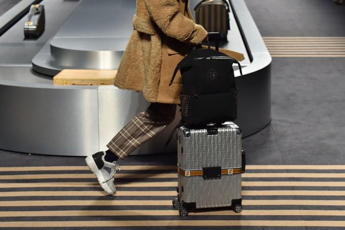 行李箱也要講求時尚!很想要這款 Fendi x Rimowa 的 FF Logo 行李箱