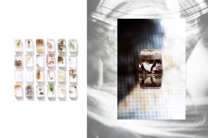 沒想到食材也能設計成美食骨牌!