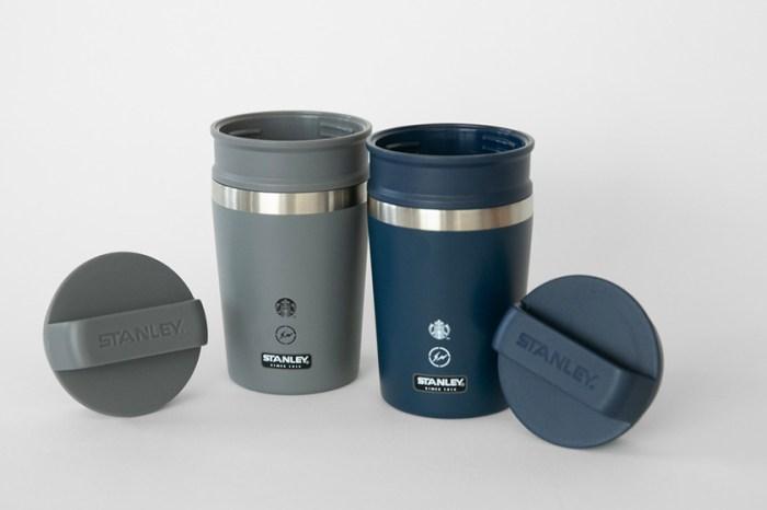 極簡工業風!Starbucks x 藤原浩 x Stanley 推出重量級聯乘系列