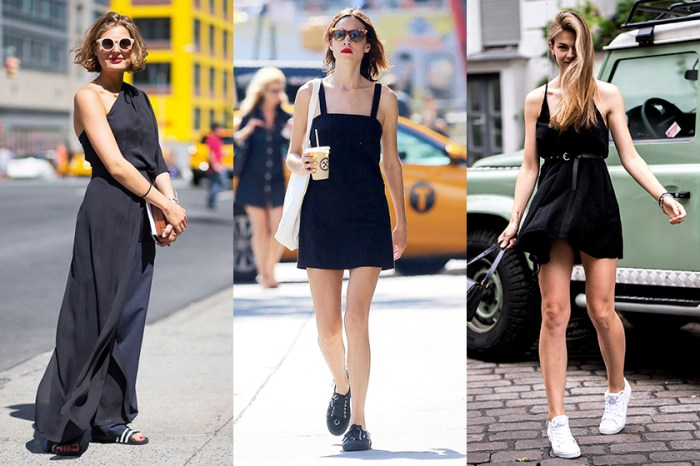 黑色並非夏日大忌: 30 多位街拍達人向你證明,All Black 造型也可清爽有型!