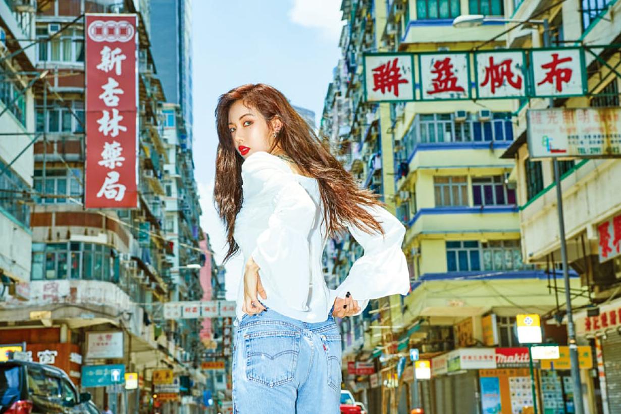 Hyuna hyunah_aa allure korea hong kong photoshoot korean sexy icon k pop hong kong local spots cha chaan teng
