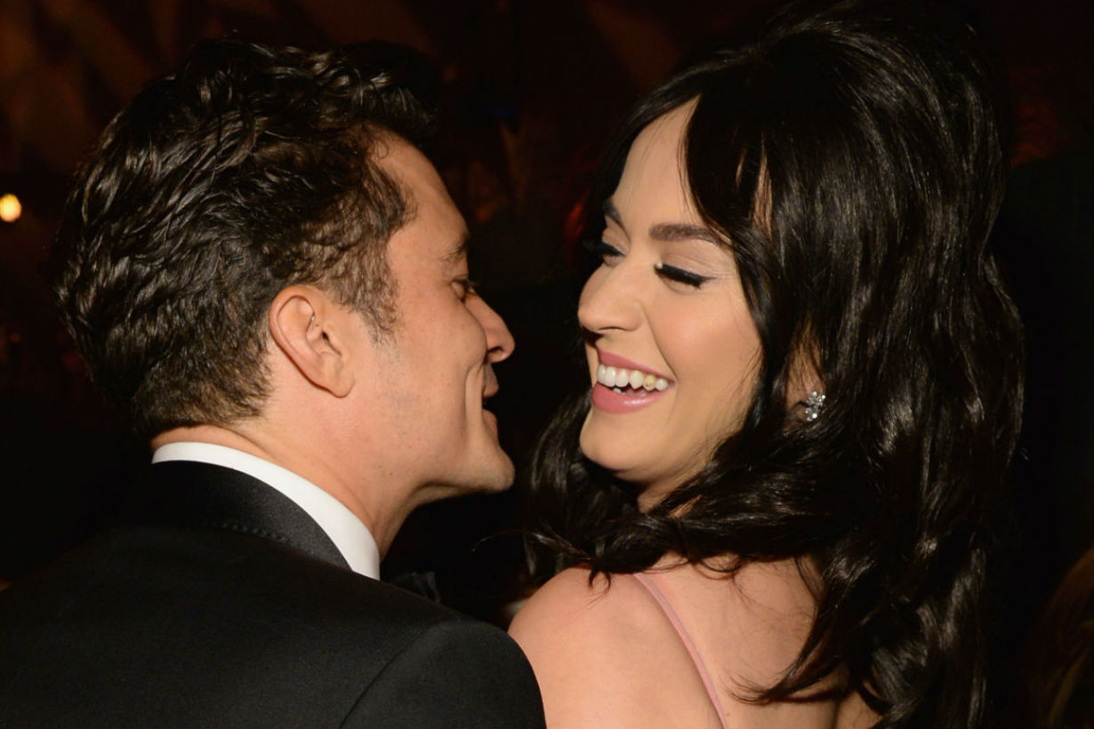 katy perry orlando bloom private message