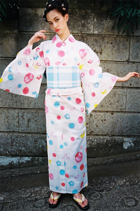 kiko mizuhara Kiko Office summer kimonos