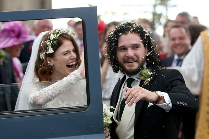 美得像童話!《Game of Thrones》Kit Harington 和 Rose Leslie 城堡婚禮細節!
