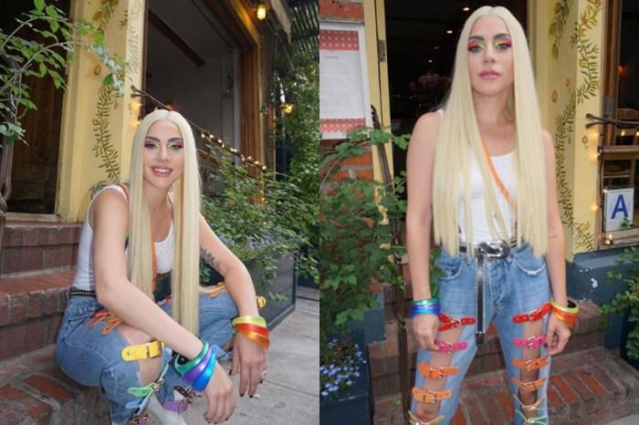Lady Gaga 教你如何以 Statement Jeans 成為搶眼衣著人士!
