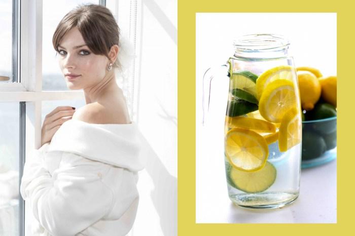 美白又健康的檸檬水,該如何喝才是最正確方法?