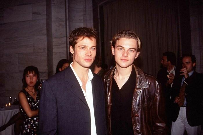 時光走得快,但這張合影證明 Leonardo、Brad 過了 20 年仍魅力不減!