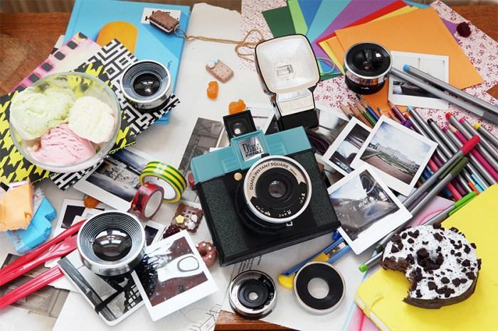 60 年代經典再現-Lomo 全新 Diana Instant Square 方形即影即有相機面世!