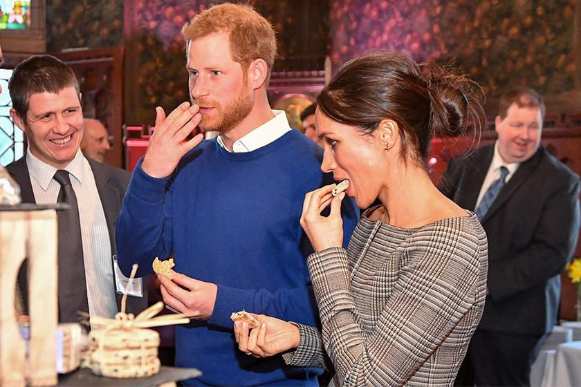 meghan markle cant eat garlic travels as a royal