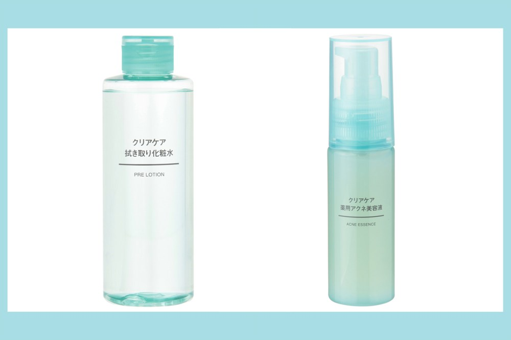 Muji japan new skincare line clear care citrus scent pore acne