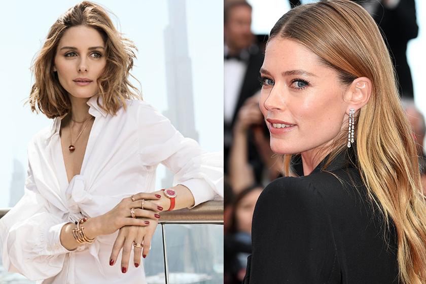 想知道時尚名媛 Olivia Palermo 與超模 Doutzen Kroes 時尚自信的秘密是 piaget possession
