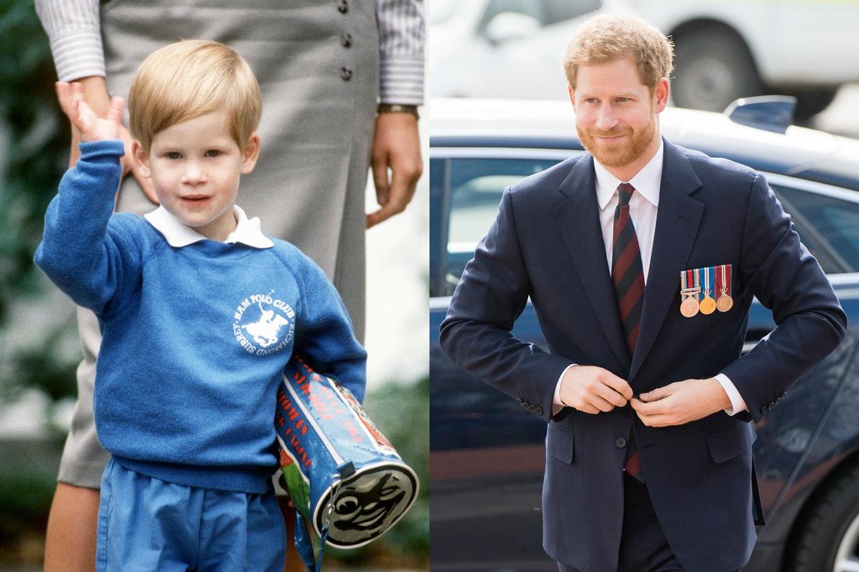 Meghan Prince Princess Queen British Royal Family members throwback kids photos