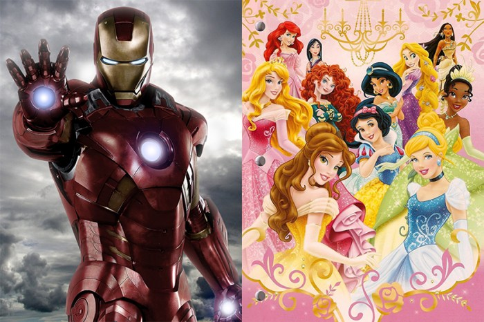 想像到嗎?Iron Man 竟然跟迪士尼 11 位公主在電影中同場演出…